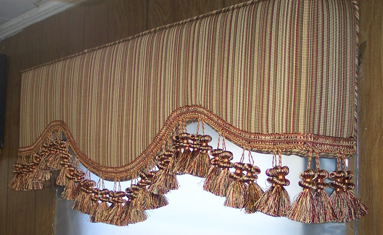 Mesa AZ upholstered cornice boards