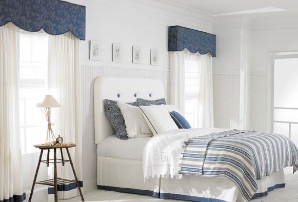 Mesa upholstered cornice boards